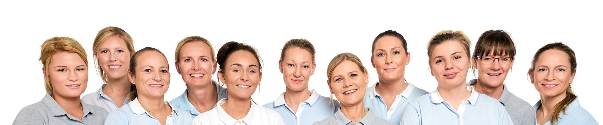 Medarbejdere hos Krumport Tandlægerne